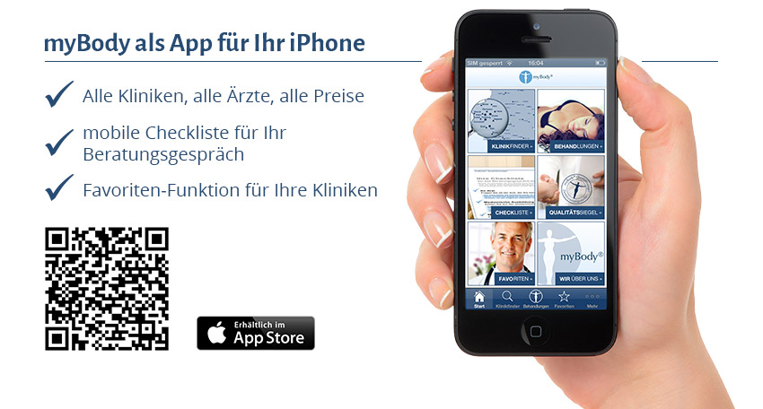 myBody App für iPhone