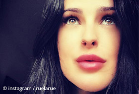 Rumer Willis Gesicht in Nahansicht