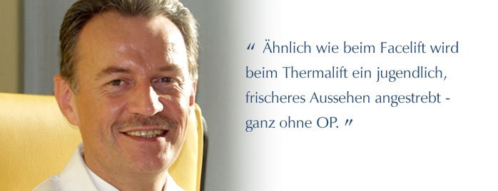 Expertenwissen Thermage - Dr. Joachim Beck