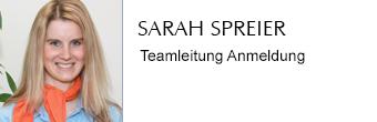 Sarah Spreier